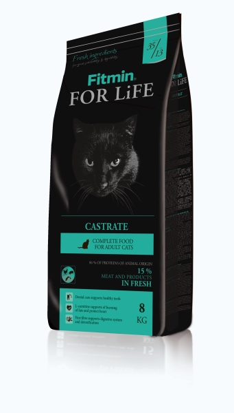 Fitmin Cat For Life Castrate 2 x 8 kg