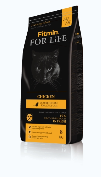 Fitmin Cat For Life Chicken 2 x 8 kg