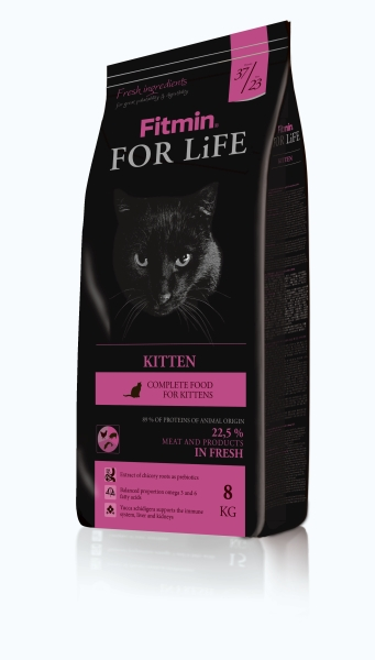 Fitmin Cat For Life Kitten 3 x 8 kg