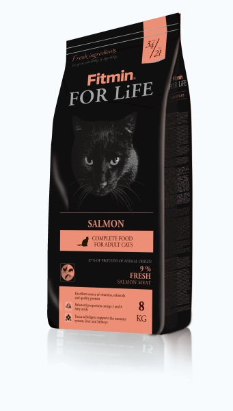 Fitmin Cat For Life Salmon 2 x 8 kg