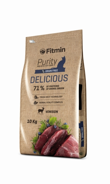 Fitmin Cat Purity Delicious 2 x 10 kg