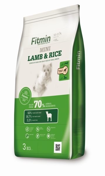 Fitmin dog MINI Lamb & Rice 14 kg