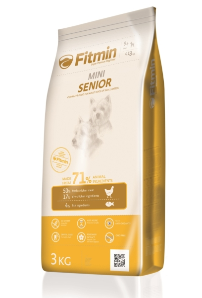 Fitmin dog Mini senior  2 x 3 kg